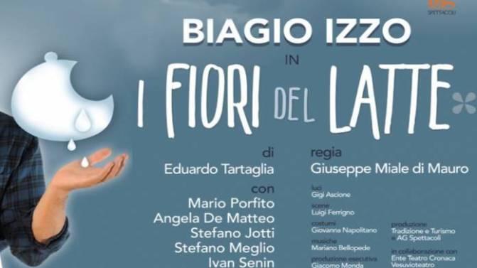 """12 – 13 gennaio """"I fiori del Latte"""" al Teatro Brancaccio"""