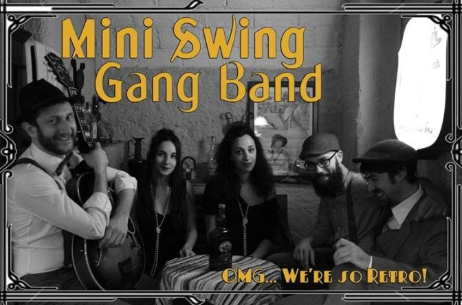 "23 febbraio 2019 ""Mini Swing Gang Band – Swing some Ragtime&Jive!"" al Gatsby Cafè"