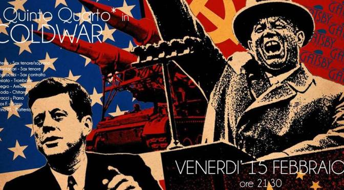 "15 febbraio 2019 ""Il 5°4° – Jazz Ensemble (5+4)"" al Gatsby Cafè"