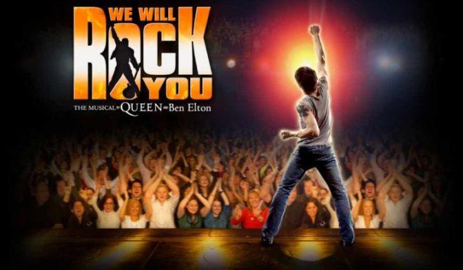 """27 febbraio – 3 marzo 2019 """"We Will Rock You"""" al Teatro Brancaccio"""
