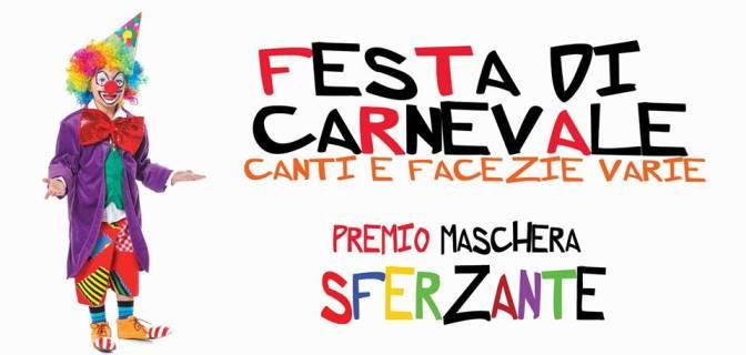 """5 marzo 2019 """"Festa di Carnevale"""" al Palazzo del Freddo Fassi"""