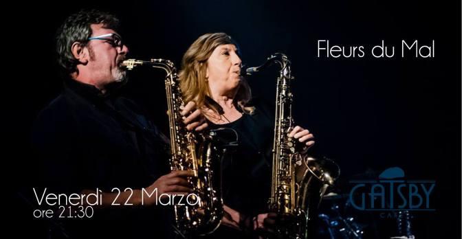 "22 marzo 2019 ""Fleurs du Mal – Blues songs – acoustic set"" al gatsby Cafè"