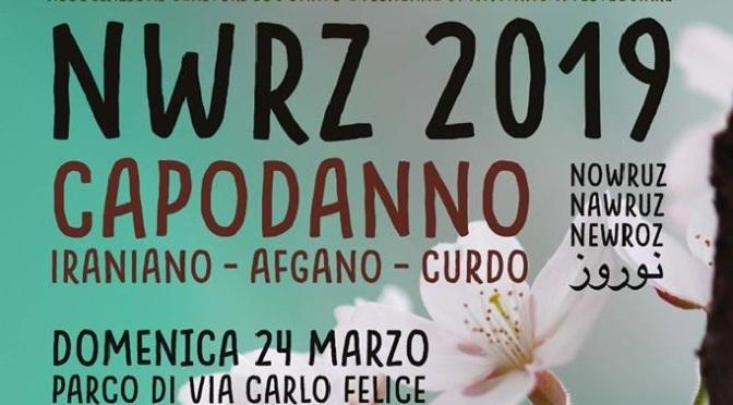 "24 marzo 2019 ""NWRZ 2019 – Capodanno Iraniano Afgano Curdo"" al Parco di via Carlo Felice"