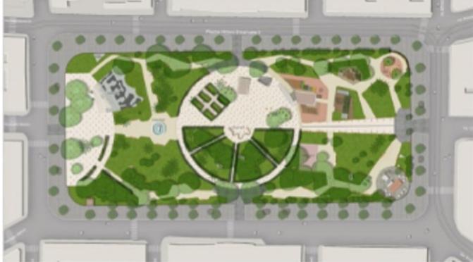 Il progetto di riqualificazione del giardino di Piazza Vittorio
