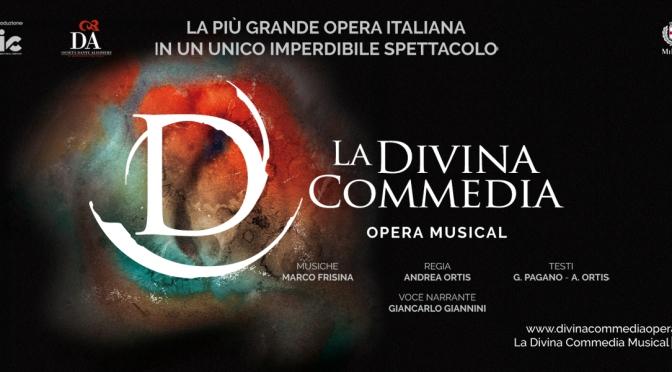 """2 – 7 aprile 2019 """"La Divina Commedia – Opera Musical"""" al Teatro Brancaccio"""
