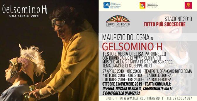"27 aprile 2019 ""Gelsomino H"" al Teatro Brancaccino"