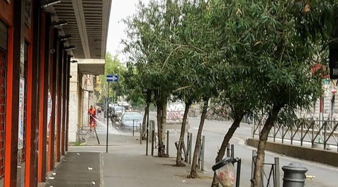Il Contratto di Servizio per la pulitura delle strade e dei marciapiedi di Roma Capitale
