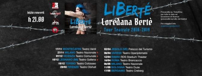 """16 aprile 2019 """"Libertè"""" al Teatro Brancaccio"""