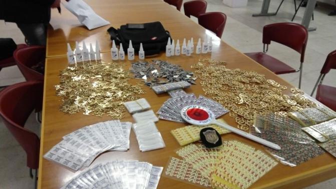 Stazione Termini, fermato corriere di noti marchi contraffatti: scoperto traffico del falso del valore di oltre 200.000 euro