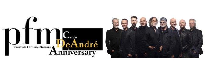 """9 aprile 2019 """"PFM canta De Andrè"""" al Teatro Brancaccio"""