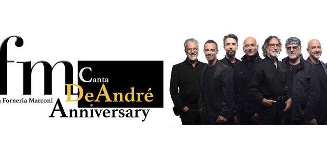 """11 maggio 2019 """"PFM canta De Andrè"""" al Teatro Brancaccio"""