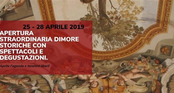 La Regione Lazio rinnova l'appuntamento con le Dimore storiche del Lazio dal 25 al 28 aprile 2019