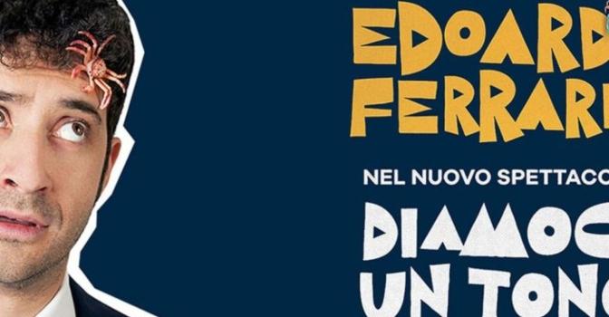 """6 maggio 2019 """"DIAMOCI UN TONO – A SPECIAL SHOW"""" al Teatro Brancaccio"""