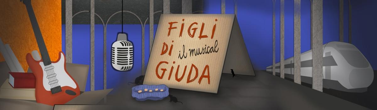 """22 maggio 2019 """"Figli di Giuda"""" al Teatro Brancaccio"""