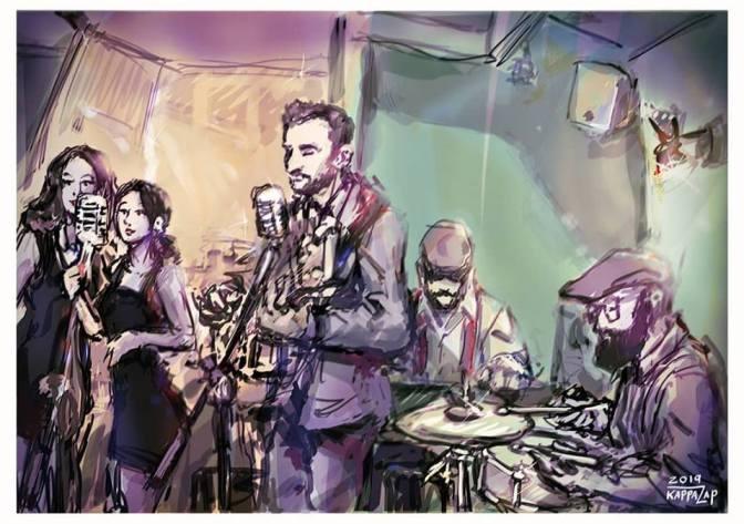 "3 maggio 2019 ""Mini Swing Gang Band – Swing some Ragtime&Jive!"" al Gatsby Cafè"