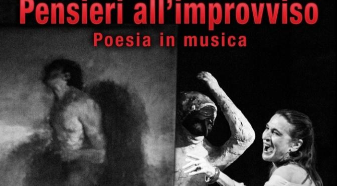 "9 maggio 2019 ""Pensieri all'improvviso"" al Teatro Brancaccio"
