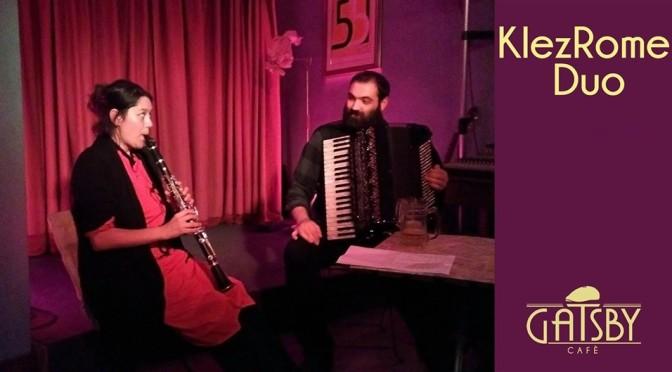 "21 giugno 2019 ""KlezRomeDuo – Klezmer Popular Music"" al Gatsby Cafè"