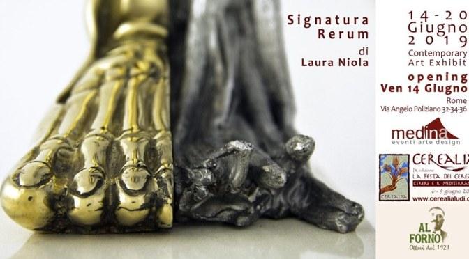 """14 – 20 giugno 2019 """"Signatura Rerum"""" allo Studio Medina"""