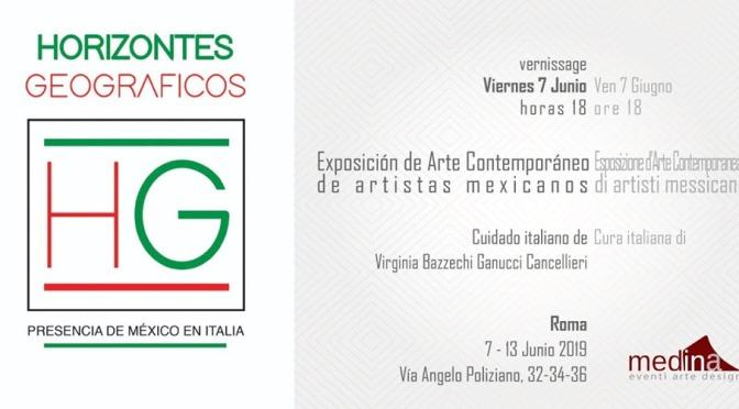 """7 – 13 giugno 2019 """"Horizontes Geografico"""" mostra d'arte collettiva allo Studio Medina"""