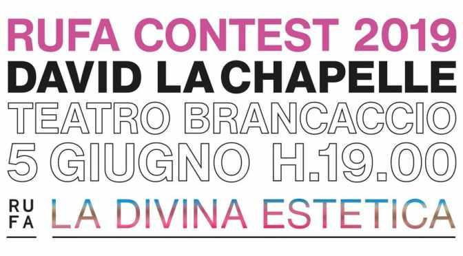 """5 giugno 2019 """"Rufa Contest 2019"""" al Teatro Brancaccio"""
