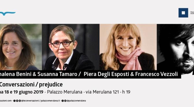 """18 – 19 giugno 2019 """"Le Conversazioni"""" al Palazzo Merulana"""