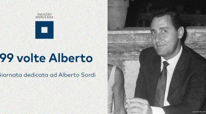 """15 giugno 2019 """"99 volte Alberto"""" Giornata dedicata ad Alberto Sordi al Palazzo Merulana"""