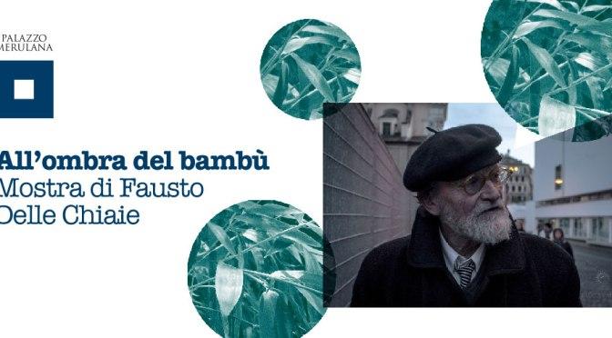 """8 – 24 giugno 2019 """"All'ombra del Bambù"""" Mostra di Fausto Delle Chiaie al Palazzo Merulana"""
