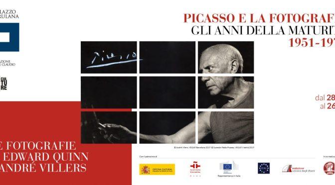 """28 giugno – 26 agosto 2019 """"Picasso e la fotografia. Gli anni della maturità. 1951 – 1973"""" al Palazzo Merulana"""