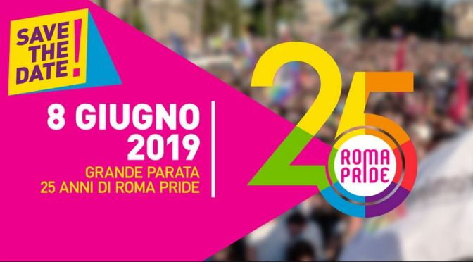 """8 giugno 2019 """"Roma Pride 2019"""" il percorso, le chiusure al traffico e le deviazioni dei mezzi pubblici"""