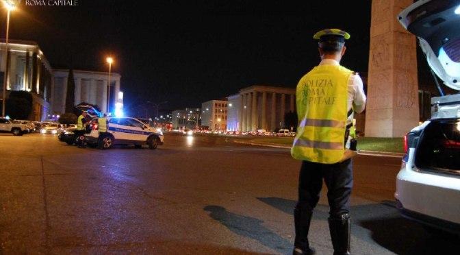 Movida: scoperta discoteca abusiva nei pressi della Stazione Termini ed una persona, senza patente, è stata denunciata per guida in stato di ebbrezza