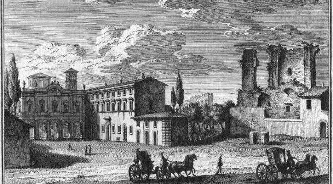7 giugno 2019 – Presentazione del restauro dell'affresco di A. R. Mengs presso la chiesa di Sant'Eusebio