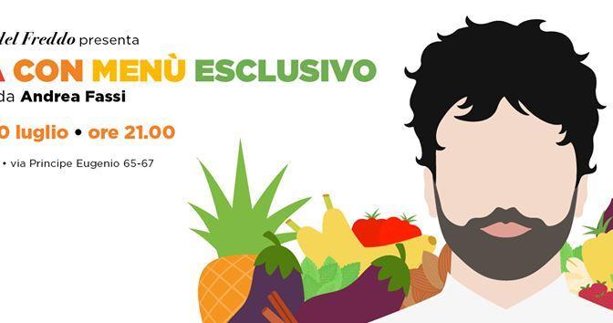 """20 luglio 2019 Cena con menu esclusivo """"Innamoramento"""" al Palazzo del Freddo Fassi"""