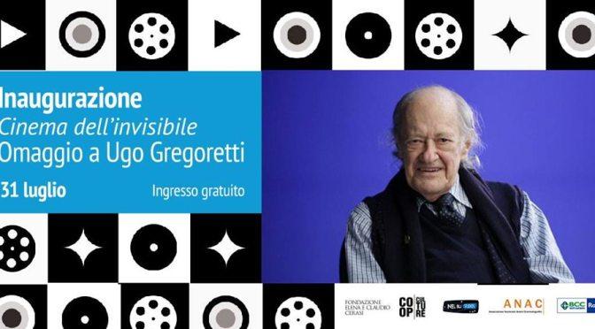 """31 luglio 2019 """"Omaggio a Ugo Gregoretti"""" serata speciale al Palazzo Merulana"""