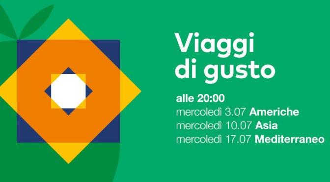 """3, 10, 17 luglio 2019 """"Viaggi di gusto"""" a Palazzo Merulana"""
