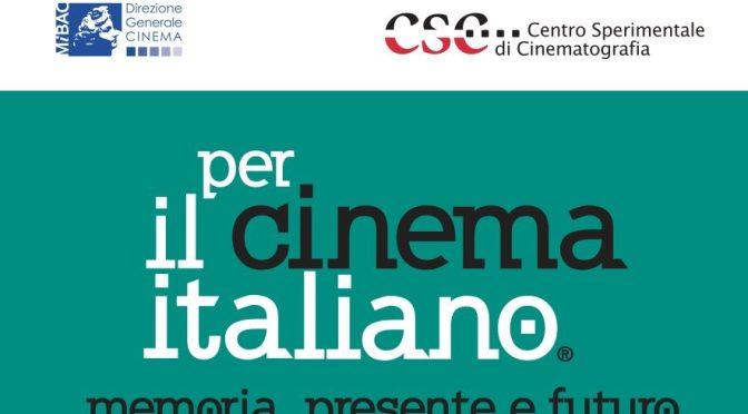 """Estate 2019 a Santa Croce in Gerusalemme, 6 -20 luglio rassegna """"PER IL CINEMA ITALIANO"""" – Il programma"""