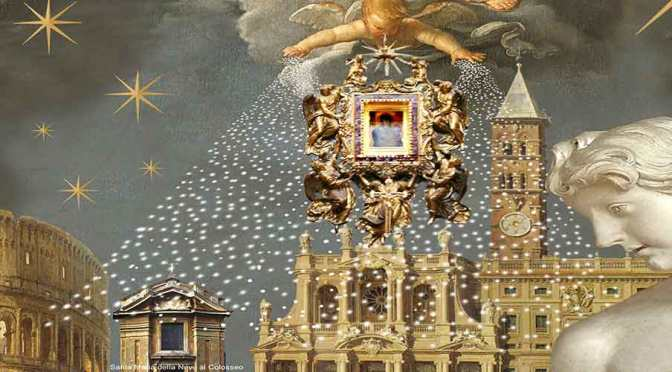 5 agosto 2019 Rievocazione storica del miracolo della nevicata a Santa Maria Maggiore