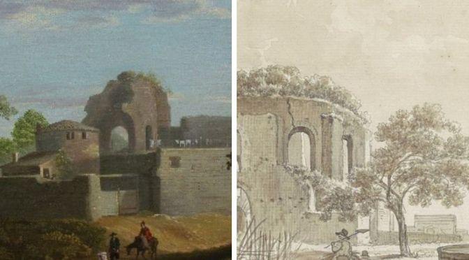 Due dipinti del cd. Tempio Minerva Medica diversi dagli altri e con una grande sorpresa