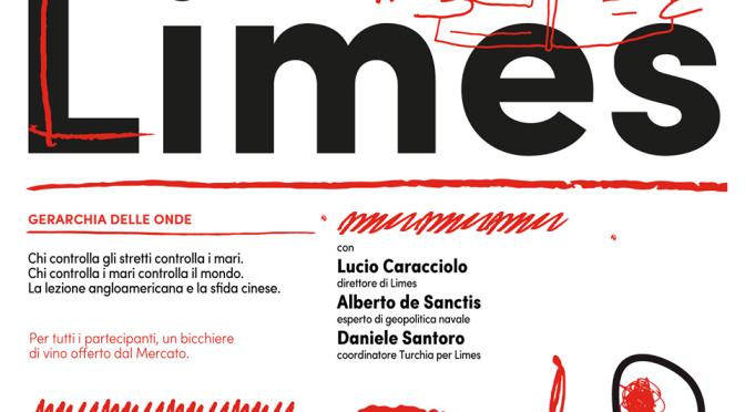 """4 settembre 2019 Presentazione del nuovo numero di Limes """"Gerarchia delle onde"""" al Mercato Centrale"""