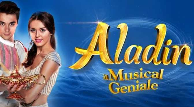 """2 ottobre – 8 dicembre 2019 """"Aladin"""" al Teatro Brancaccio"""