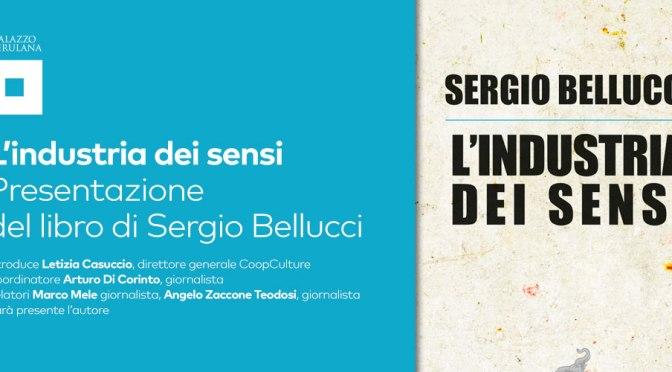 """17 ottobre 2019 presentazione del libro""""L'industria dei sensi"""" al Palazzo Merulana"""