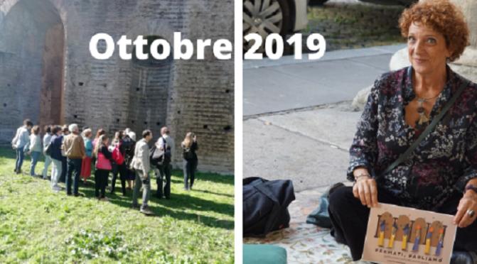 Due eventi da ricordare in questo ottobre 2019