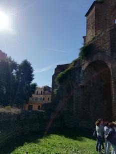 Tempio Minerva Medica: Una splendida giornata di sole ha salutato l'evento