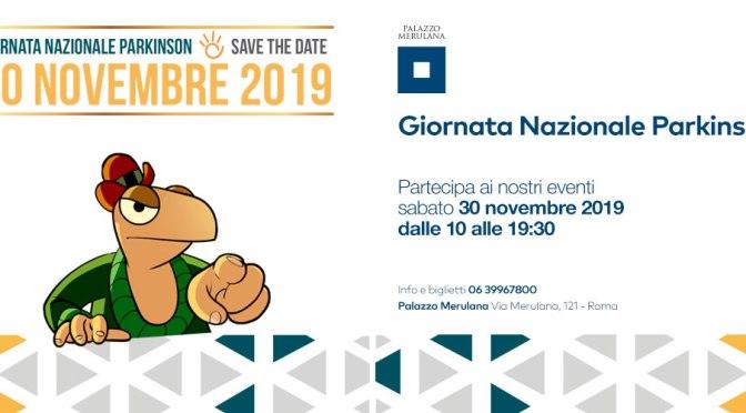 """30 novembre 2019 """"Giornata Nazionale Parkinson"""" al Palazzo Merulana"""