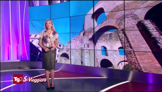 Tg2, Sì Viaggiare: il servizio andato in onda il 15/11/19 sul cd. Tempio di Minerva Medica e Santa Bibiana