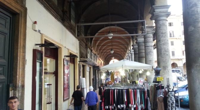 Nota ufficiale del I Municipio sullo spostamento delle bancarelle dai portici di Piazza Vittorio