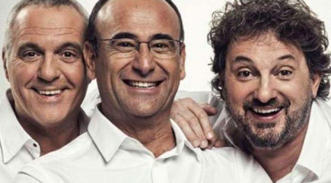 """2 – 3 dicembre 2019 """"PANARIELLO CONTI PIERACCIONI-IL TOUR. VERSIONE TEATRALE"""" al Teatro Brancaccio"""