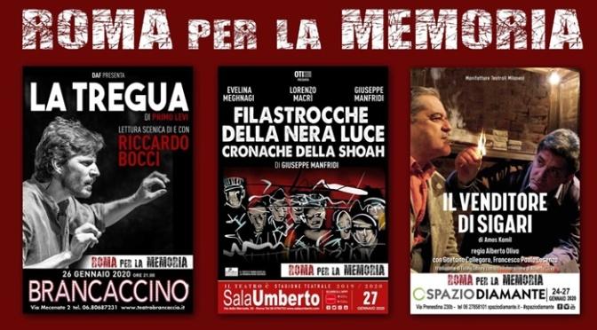 """26 gennaio 2020 ore 21,00 """"La Tregua"""" al Teatro Brancaccino"""