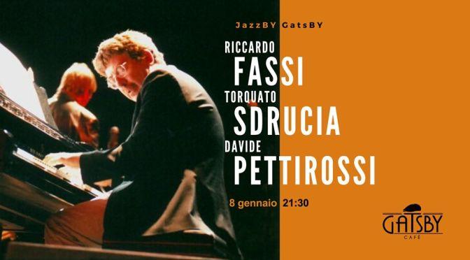 """8 gennaio 2020 """"Jazz by Gatsby: Riccardo Fassi New Organ Trio"""" al Gatsby Cafè"""