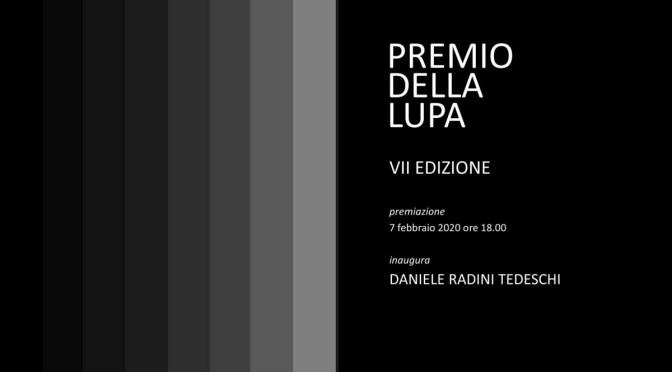 """7 febbraio 2020 Premiazione """"Premio della Lupa"""" allo Studio Medina – 7/13 febbraio esposizione delle opere"""