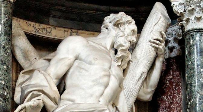 Le sculture degli Apostoli in San Giovanni in Laterano